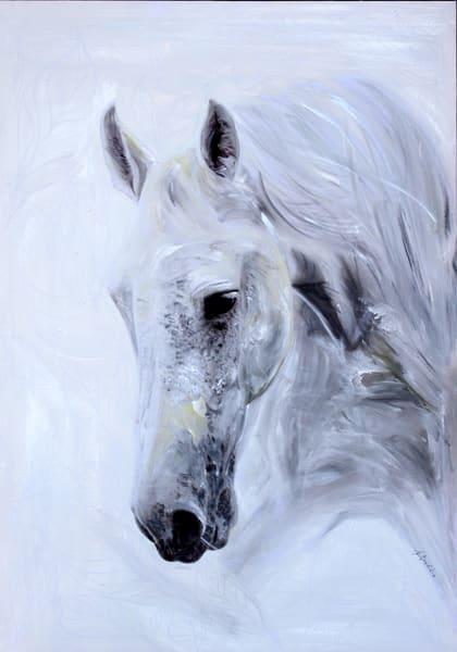 White Summer, Original Acrylic Painting