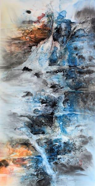 Endless Songs Of Heaven And Earth (Unframed) Art   Karen Kurka Jensen