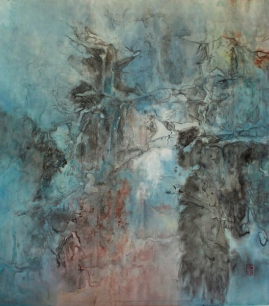 Deep Parts Of My Life Pour Onward (Framed) Art   Karen Kurka Jensen