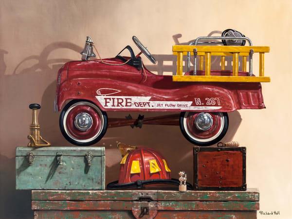 Where's The Fire? Art | Richard Hall Fine Art