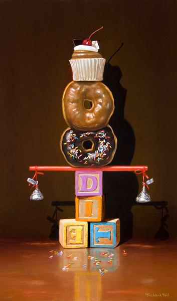 Well Balanced Diet Art | Richard Hall Fine Art