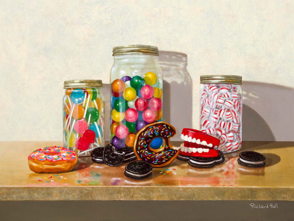 Sweet Tooth Art | Richard Hall Fine Art
