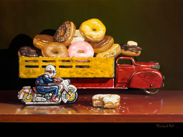 Stopped For Donuts Art | Richard Hall Fine Art