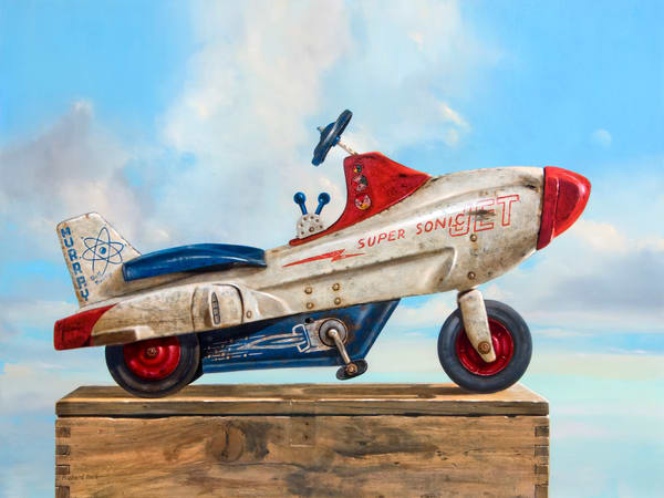 Sky Rider Art | Richard Hall Fine Art