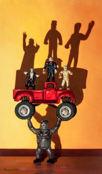 Monster Truck Art | Richard Hall Fine Art