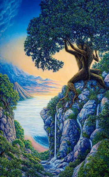 Arboreal Affection Tapestry | markhensonart
