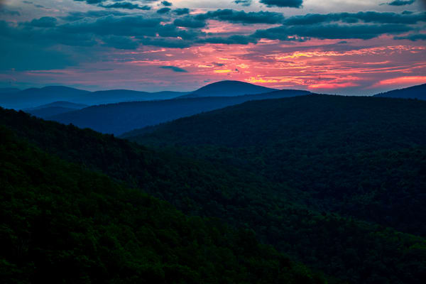 Neon Appalachia - Shenandoah National Park fine-art photography prints