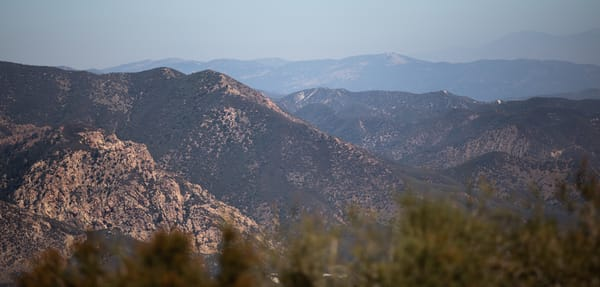 Red Rock From The Reservoir Summit Photography Art | Sydney Croasmun Photography