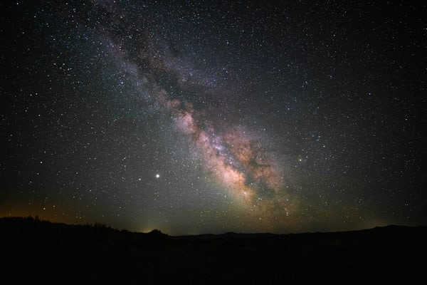 Milky Way Galaxy Luminance Photography Art | Christopher Scott Photography