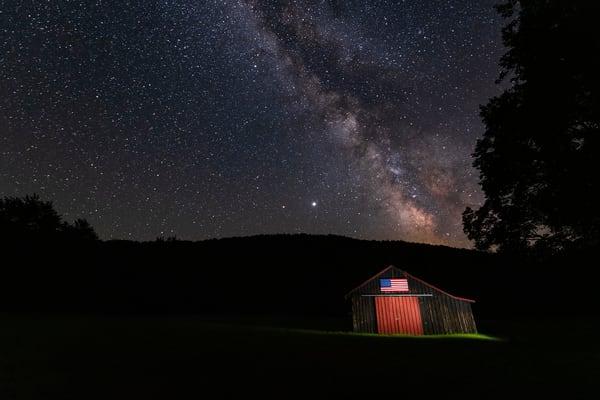 Woodcraft Milky Way Barn Photography Art | Kurt Gardner Photogarphy
