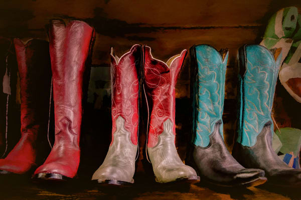 Custom Handmade Boots Photography Art | Grace Fine Art Photography by Beth Sheridan