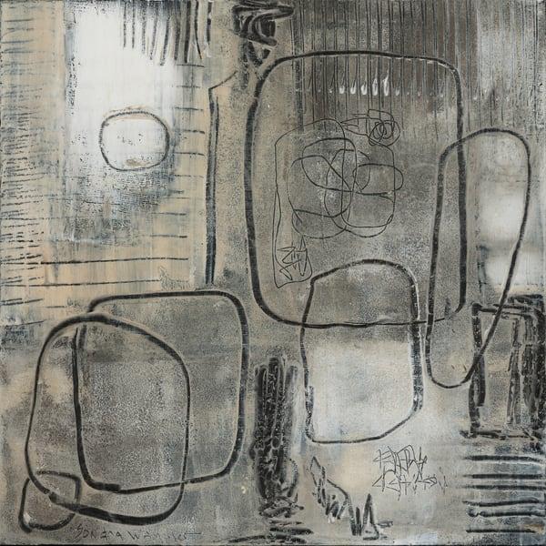 Walking With The Moon No 1 Art | Sondra Wampler | fine art
