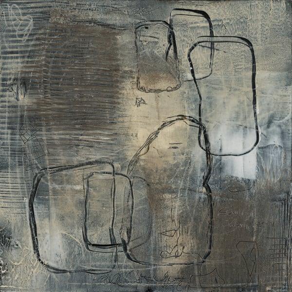Walking With The Moon No 3 Art | Sondra Wampler | fine art
