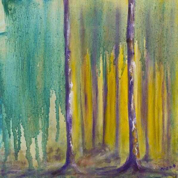 purple trees storm of wonder