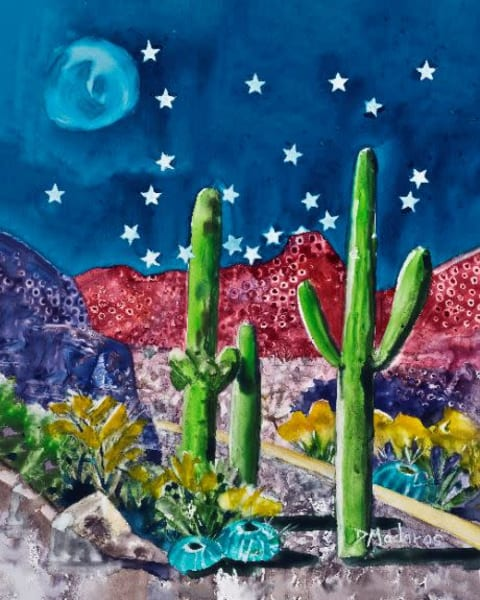 Holiday Cards & Ornaments | Southwest Art Gallery Tucson