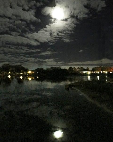 Moon Reflected Photography Art | It's Your World - Enjoy!