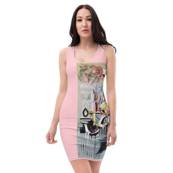 Chandelier Straight Dress  | ashalmonte