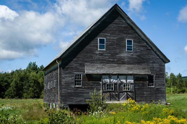 Barn near Rockport, Maine.