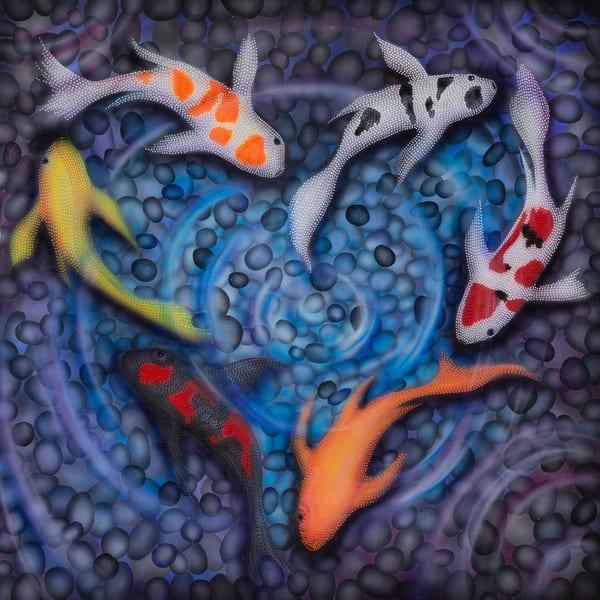 koi, koi-fish-art, heart-art, love-art, lucky-art, luck, abundance