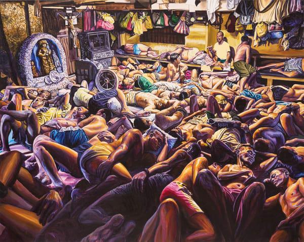"""Manila Jail (From The Nyt January 8, 2019 By Hannah Reyes Morales)  Art | George Terry McDonald Art"