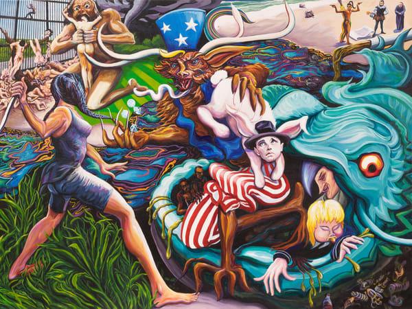 American Wendigo Art | George Terry McDonald Art