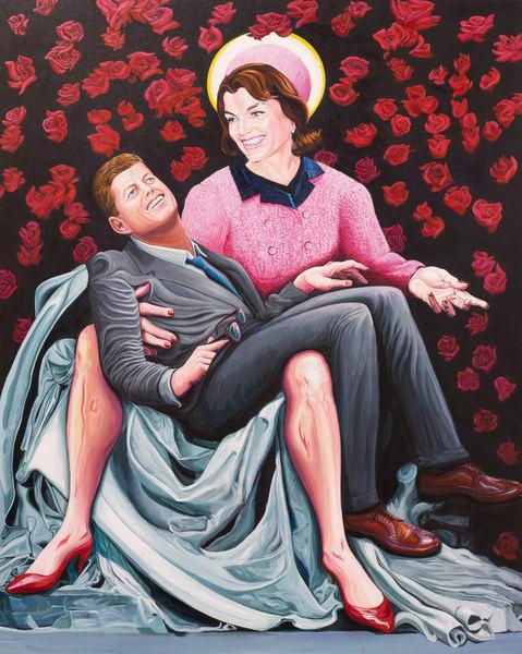 Kennedy Pieta Art | George Terry McDonald Art