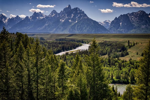 Grand Teton and the Snake River | Shop Photography by Rick Berk