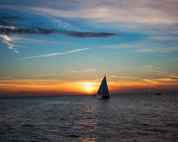 Sailing Into The Sunset Photography Art | It's Your World - Enjoy!