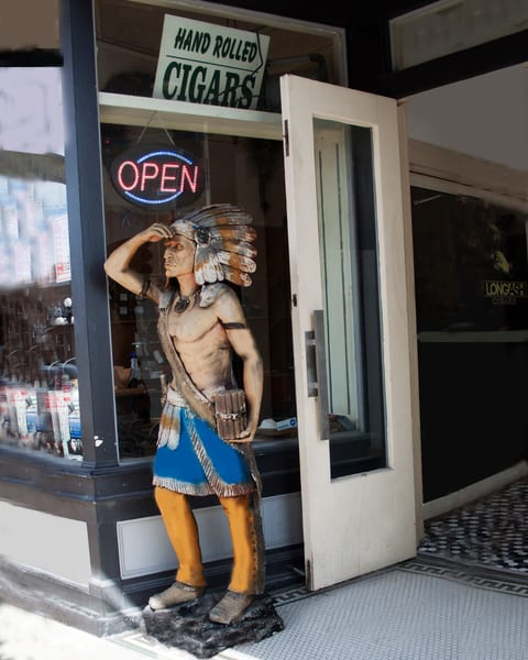 The Cigar Store Photography Art | It's Your World - Enjoy!