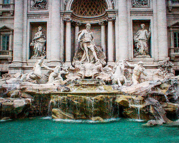 Trevi Fountain Photography Art | It's Your World - Enjoy!