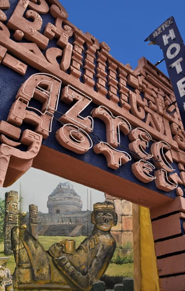 Mayan Design Called Aztec Hotel