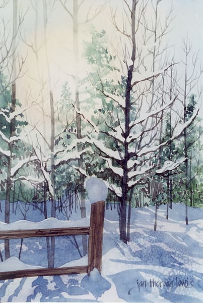 Winter Glow Art | Jan Thoreen Lewis Fine Art