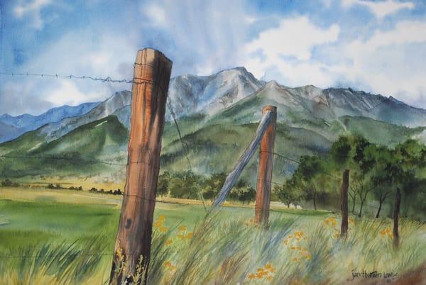 Mt. Princeton Summer Squall Art | Jan Thoreen Lewis Fine Art
