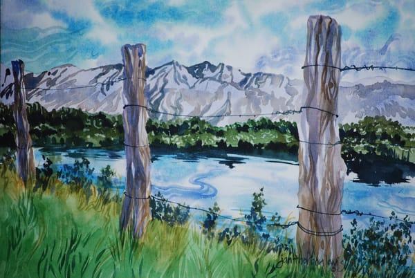 Lake Matanuska Art | Jan Thoreen Lewis Fine Art