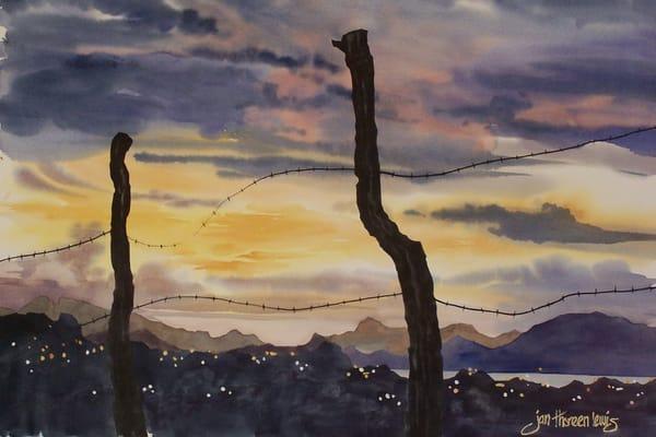 San Carlos Sunset Art | Jan Thoreen Lewis Fine Art