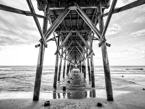 Surf City Pier Art Photography