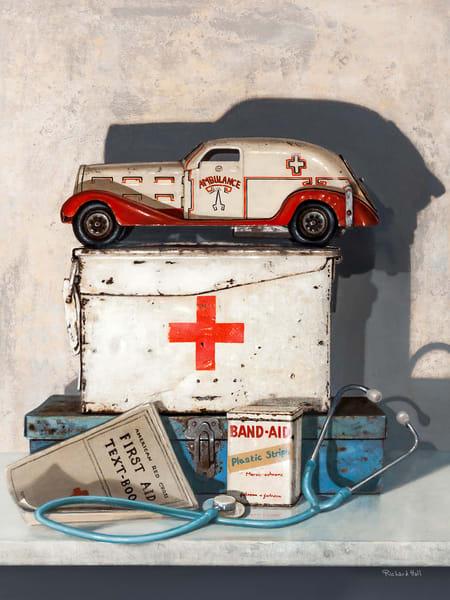 Let S Play Doctor Art | Richard Hall Fine Art