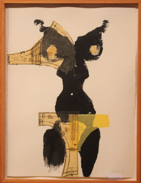 Black And Gold Art   David R. Prentice