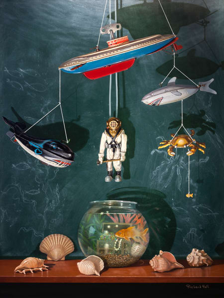 Voyage To The Bottom Of The Sea Art   Richard Hall Fine Art
