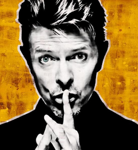 David Bowie Art print, David Bowie Poster, David Bowie framed canvas art