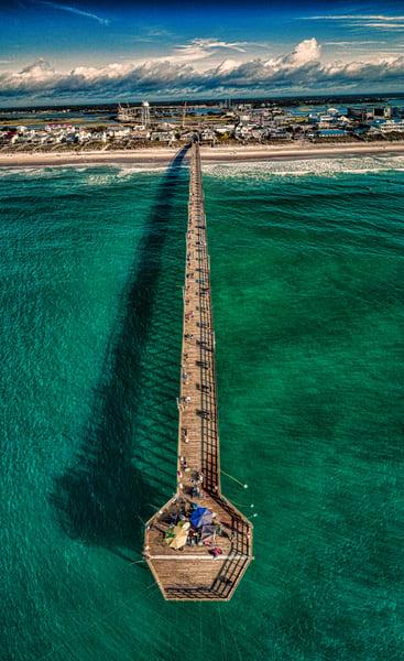 Surf City Pier Photography Art | Art Sea Love