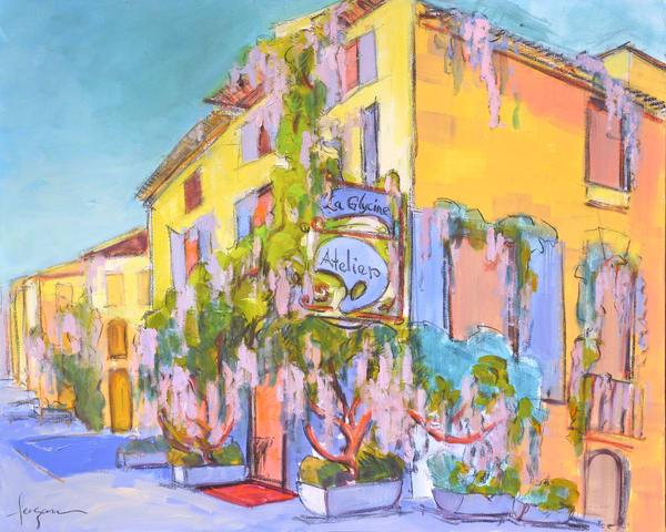 Atelier La Glycine Art | Dorothy Fagan Joy's Garden
