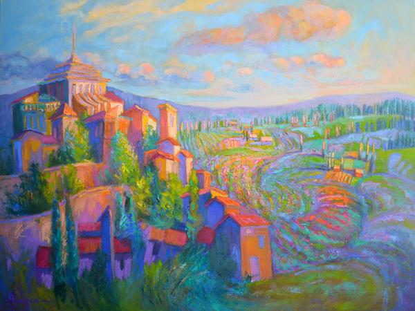 Lavande Magic Art | Dorothy Fagan Joy's Garden