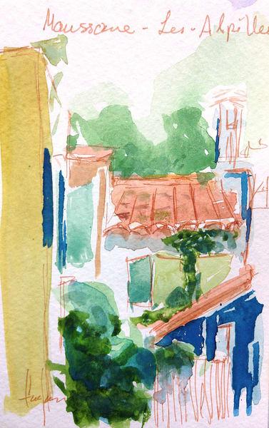 Maussone Les Alpilles Art | Dorothy Fagan Joy's Garden