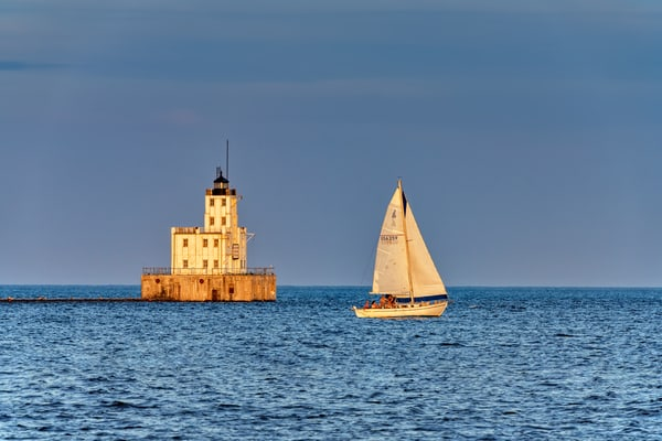 Milwaukee Breakwater Lighthouse | Shop Photography by Rick Berk