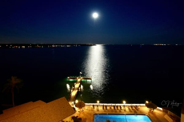 Full March Moon Signed Photography Art | CJ Harding