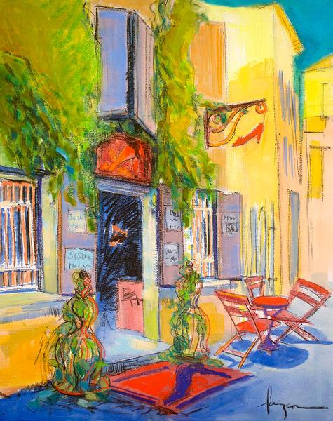The Ruby Slipper Art | Dorothy Fagan Joy's Garden
