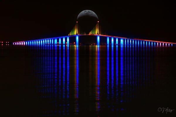 Skyway Bridge New Signed Photography Art | CJ Harding