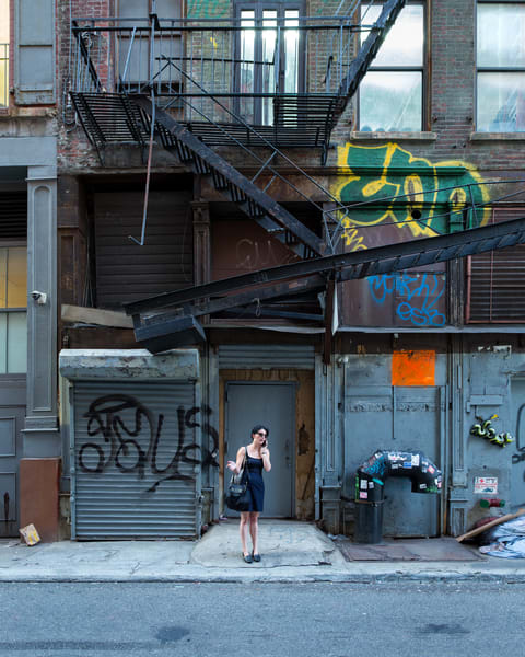 Woman In Alley, Tribeca Art | Jason Homa