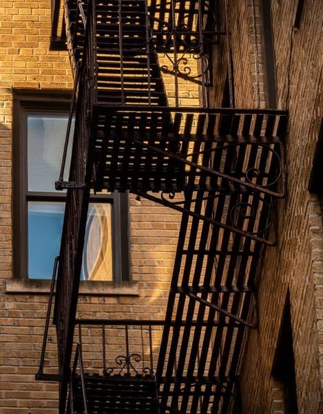 Upper Eastside Fire Escape, NYC